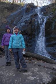 Explorers discover waterfall