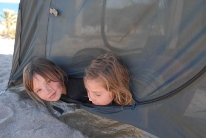 Tent monkeys