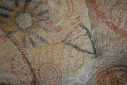Cave art.