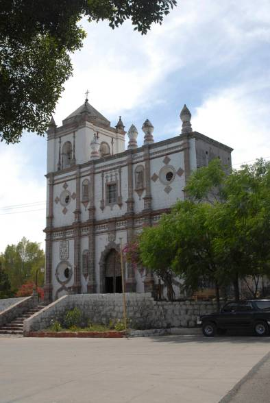 The mission at San Ignacio.