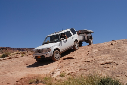 A little rock shelf was a lot steeper than it looks in this picture.